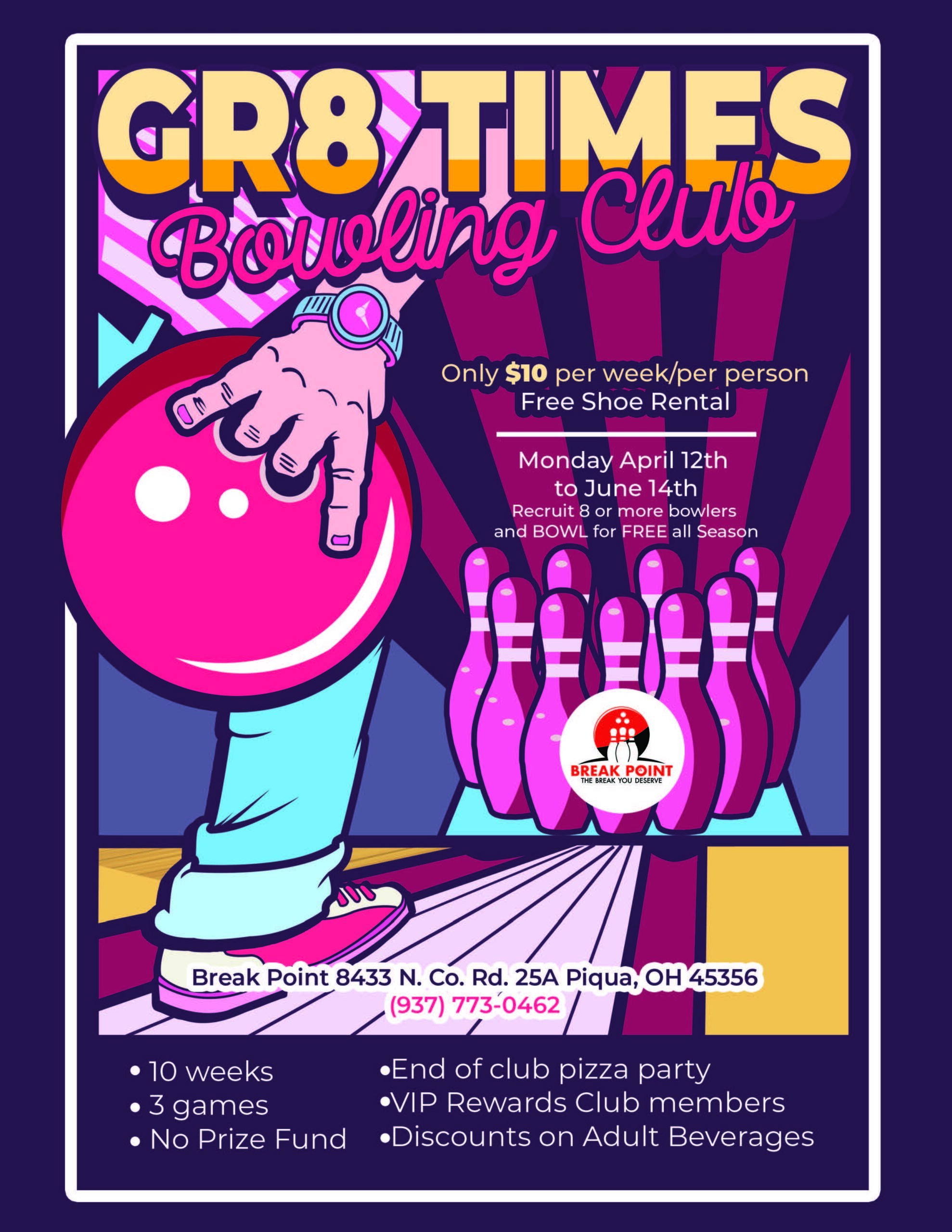 GR8 Times Bowling Club