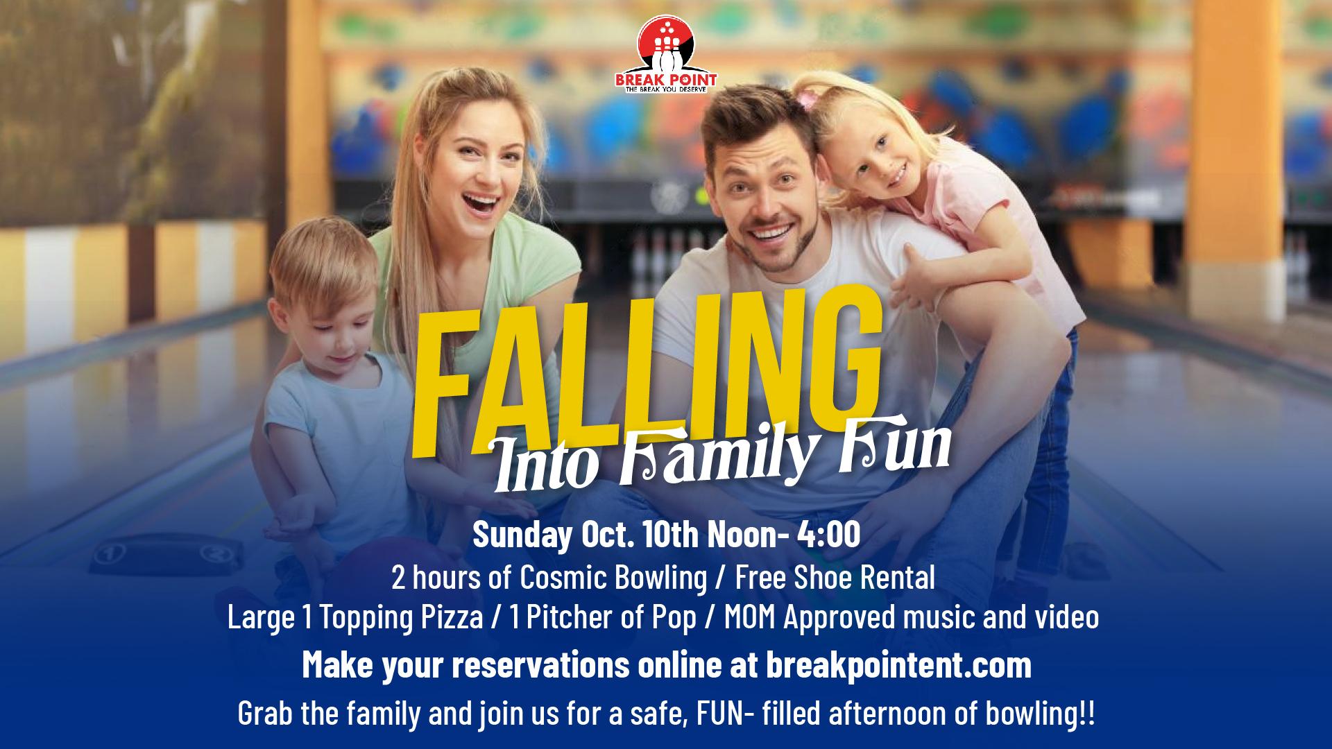 Falling into Family Fun